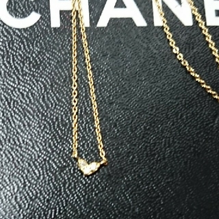 k18 ダイヤ ハート ネックレス (ネックレス)