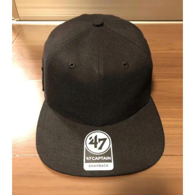 N.HOOLYWOOD(エヌハリウッド)のN.HOOLYWOOD COMPILE × '47 CAP BLACK メンズの帽子(キャップ)の商品写真