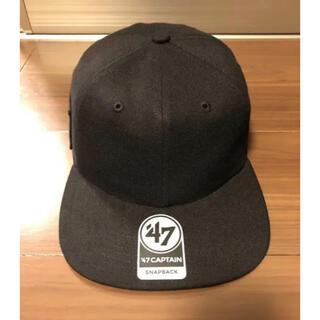 エヌハリウッド(N.HOOLYWOOD)のN.HOOLYWOOD COMPILE × '47 CAP BLACK(キャップ)