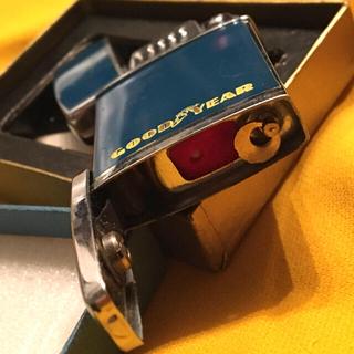 ジッポー(ZIPPO)のW DRAGON Goodyear ビンテージ オイルライター  珍機構 未使用(タバコグッズ)