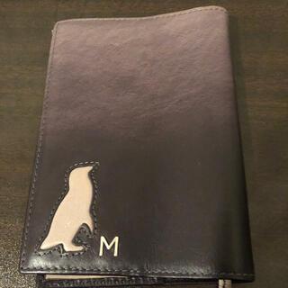 マザーハウス(MOTHERHOUSE)のペンギンブックカバー(文庫本用、牛革)(ブックカバー)