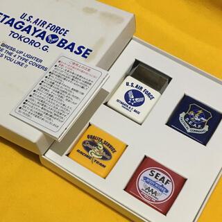ジッポー(ZIPPO)のSETAGAYA BASE 正式装備品ドレスアップ オイルライター 新品未使用(タバコグッズ)