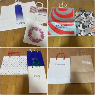 フランフラン(Francfranc)のブランド ショッピング袋 ショップ袋 ショッパー 紙袋 まとめ売り(ショップ袋)