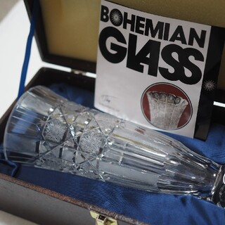 ボヘミア クリスタル(BOHEMIA Cristal)の花瓶 ボヘミア(bohemia crystal)(花瓶)