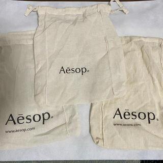 イソップ(Aesop)のイソップ 巾着 小3(ショップ袋)