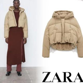 ZARA - ZARA パフジャケット S インスタ人気商品 インフルエンサー愛用品