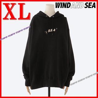 シー(SEA)のWIND AND SEA スヌーピー 銀座三越限定 ウッドストック パーカー(パーカー)