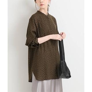 イエナ(IENA)のIENA バンドカラーシャツ(シャツ/ブラウス(長袖/七分))