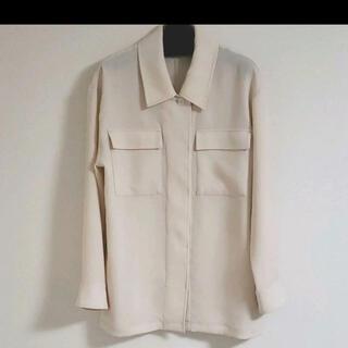 ラウンジドレス(Loungedress)のアイボリー ビックシャツ(シャツ/ブラウス(長袖/七分))