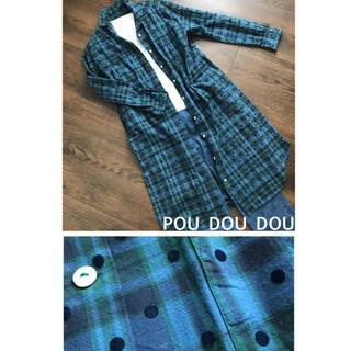 プードゥドゥ(POU DOU DOU)のPOU DOU DOU☆シャツワンピース(シャツ/ブラウス(長袖/七分))