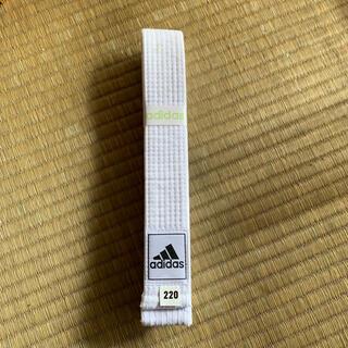 アディダス(adidas)のアディダス 白帯(相撲/武道)