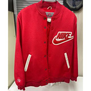 シュプリーム(Supreme)のM supreme Nike sb varsity jacket(スタジャン)