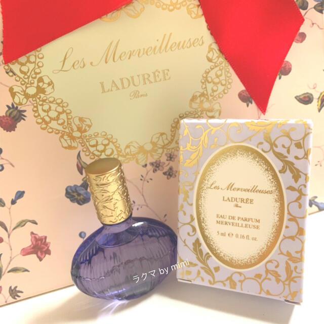 Les Merveilleuses LADUREE(レメルヴェイユーズラデュレ)のラスト1点 未使用 メルヴェイユーズ 5ml LADUREE コスメ/美容の香水(香水(女性用))の商品写真
