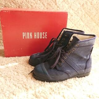 ピンクハウス(PINK HOUSE)のPINK HOUSE ハイカットスニーカー M(スニーカー)