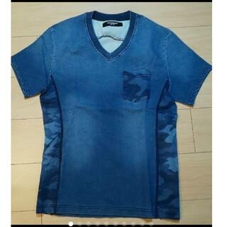 ウノピゥウノウグァーレトレ(1piu1uguale3)の未使用 半袖 denim ショートスリーブカットソー(Tシャツ/カットソー(半袖/袖なし))