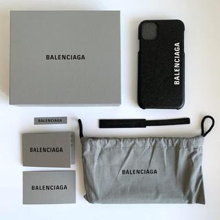 バレンシアガ(Balenciaga)のバレンシアガ iPhone11ケース ブラック(iPhoneケース)