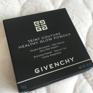 ジバンシィ(GIVENCHY)の新品未開封ジバンシイ タン・クチュール・グロウ・パウダー01(フェイスパウダー)