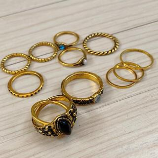 トゥデイフル(TODAYFUL)のゴールドリングまとめ売り(リング(指輪))