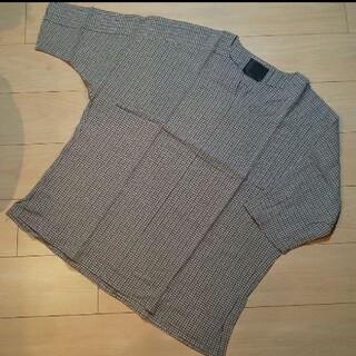 未使用 OURET シルク込 プルオーバー 六分袖くらい