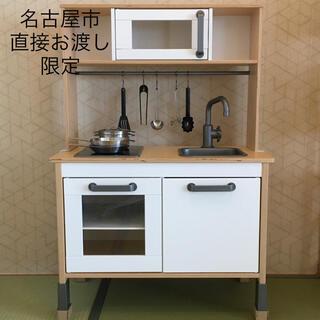 イケア(IKEA)のIKEA DUKTIG ドゥクティグおままごとキッチン(その他)
