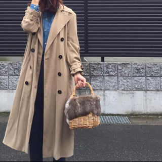 ザラ(ZARA)のZARA♡とろみトレンチコート【SNSで大人気完売】(トレンチコート)