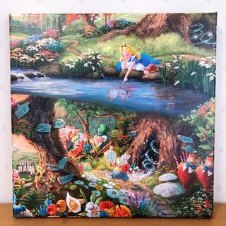 Disney - トーマスキンケード ディズニー 不思議の国のアリス キャンバス 絵画