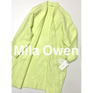 Mila Owen - mila owen ミラオーウェン ニットコート ガウンコート タグ付き