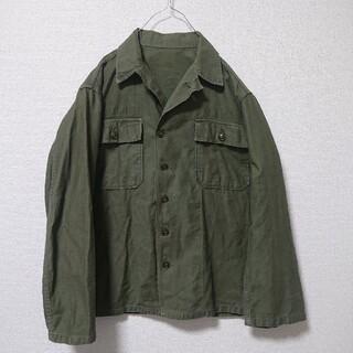 エンジニアードガーメンツ(Engineered Garments)の50s USARMY utility shirt OG107 1st 前期 筒袖(ミリタリージャケット)