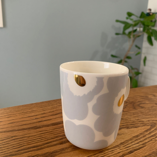 マリメッコ(marimekko)のmarimekko unikko ウニッコ マグカップ アイシーグレー(グラス/カップ)