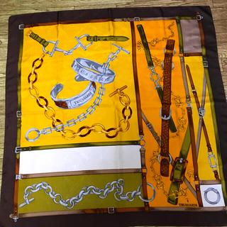 トラサルディ(Trussardi)のトラサルディ シルク100%スカーフ(バンダナ/スカーフ)