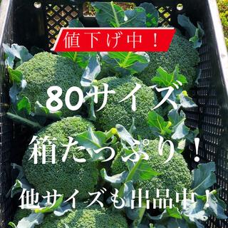 値下げ中!農家直送 採れたてブロッコリー 80(野菜)
