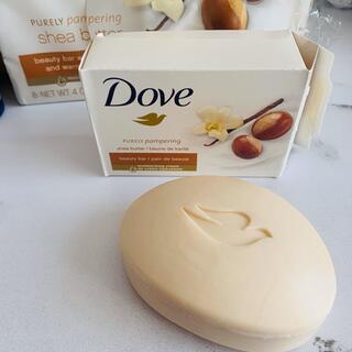 ユニリーバ(Unilever)のDove shea butter 石鹸2個セット(ボディソープ/石鹸)