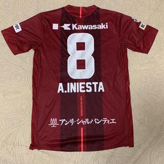 アシックス(asics)のヴィッセル神戸 イニエスタ 選手 asics ホーム ユニフォーム M(応援グッズ)
