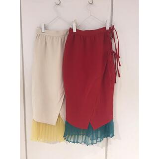 メリージェニー(merry jenny)の5分咲チューリップスカート(ひざ丈スカート)