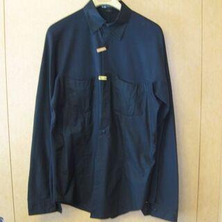 ワイスリー(Y-3)のyohji yamamoto Y-3 ハイブリッド デザインニットシャツ 黒 S(シャツ)