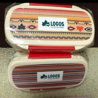ロゴス(LOGOS)のロゴス弁当箱2個セット(弁当用品)