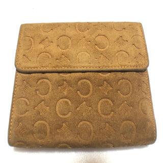 セフィーヌ(CEFINE)のセリーヌ celine Wホック折財布 スエード 茶色 (財布)
