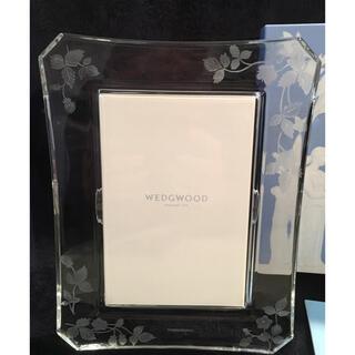 ウェッジウッド(WEDGWOOD)の新品 ウェッジウッドワイルドストロベリー 写真立て ガラス(フォトフレーム)