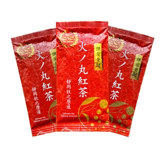 【産地直売】リーフ 限定発酵 火ノ丸紅茶 茶葉 60g×3袋(茶)