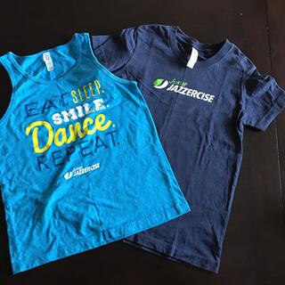 お値下げしました☆ジュニア ジャザサイズ Tシャツ タンク S 130(Tシャツ/カットソー)