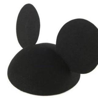 ディズニー(Disney)のミッキーベレー帽(ハンチング/ベレー帽)