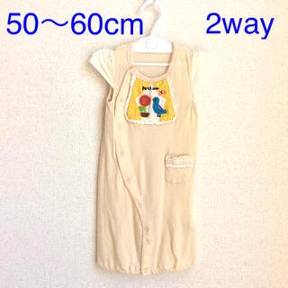 プチジャム(Petit jam)のプチジャム 50〜60cm 2way ロンパース(ba50-29)(ロンパース)