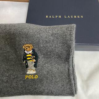 ポロラルフローレン(POLO RALPH LAUREN)のPolo Ralph Lauren ポロベア刺繍 マフラー(マフラー)