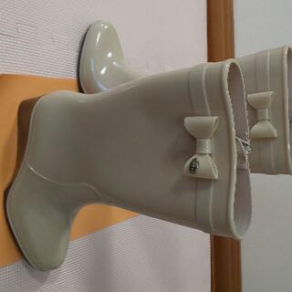 トッカ(TOCCA)のTOCCA レインブーツ ベージュ Mサイズ(レインブーツ/長靴)
