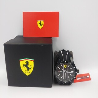 フェラーリ(Ferrari)の早い者勝ち お値段相談可 未使用品 フェラーリ腕時計 送料無料(腕時計(アナログ))