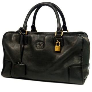 ロエベ(LOEWE)のお値段相談可 ロエベ アマソナ36 レザーハンドバッグ 送料無料(ハンドバッグ)