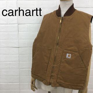 carhartt - carhartt カーハート ワークベスト ダック地 フルジップ