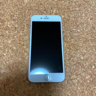 アイフォーン(iPhone)のiPhone 6s Silver 64 GB(スマートフォン本体)
