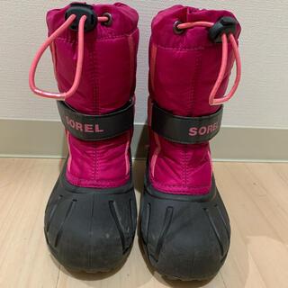ソレル(SOREL)のSOREL ユースフルーリー17cm キッズ スノーブーツ(ブーツ)