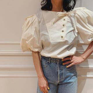 イエナ(IENA)のULLA JOHNSON blouse(シャツ/ブラウス(半袖/袖なし))